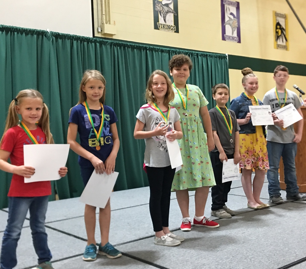 Top Accelerated Readers: Kaitlin Salmon, kindergarten, Kristi Blevins, 1st grade, Addison Bennett, 3rd grade, Shaelyn Sapp, 4th grade, Cayden Jones, 2nd grade, Alana Buce, 5th grade and Aaron Clevenger, 6th grade