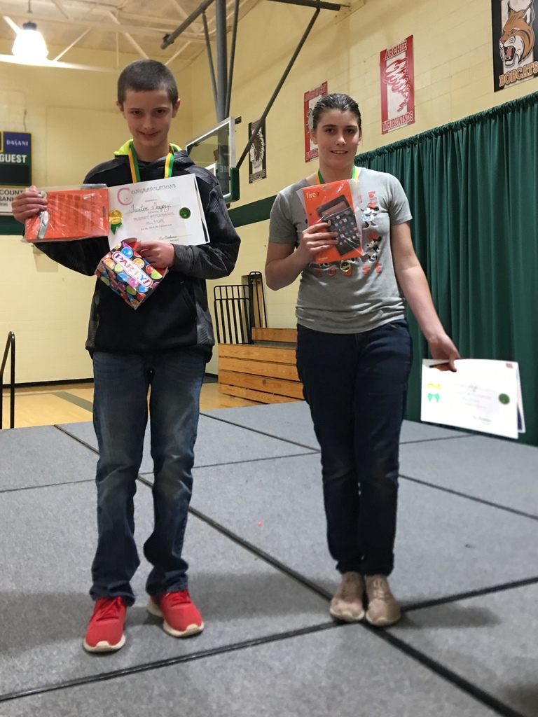 Perfect Attendance Drawing for Kindle Fires: Trenton Gregory and Aeris Sage