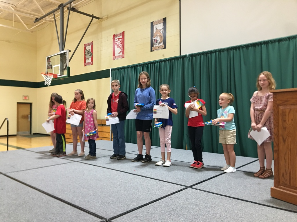 PTSO Character Awards: Elizabeth Woizeski, Zach Woizeski, Addison Meeker, Athena Lindsey, Ryan Gallagher, Cloe Bourland, Kahlen Dealy, Natalia Miller, Emily Pritch, Courtney Wallace