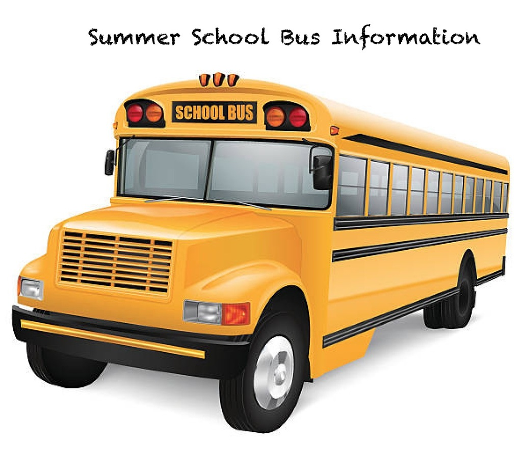 Summer School Bus
